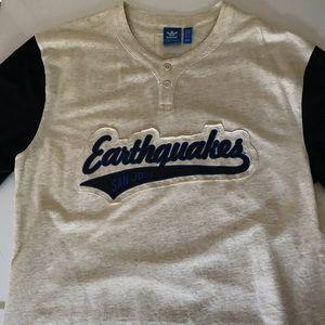 Men's San Jose earthquakes t shirt